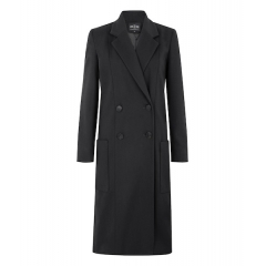 BLACK HACKNEY COAT