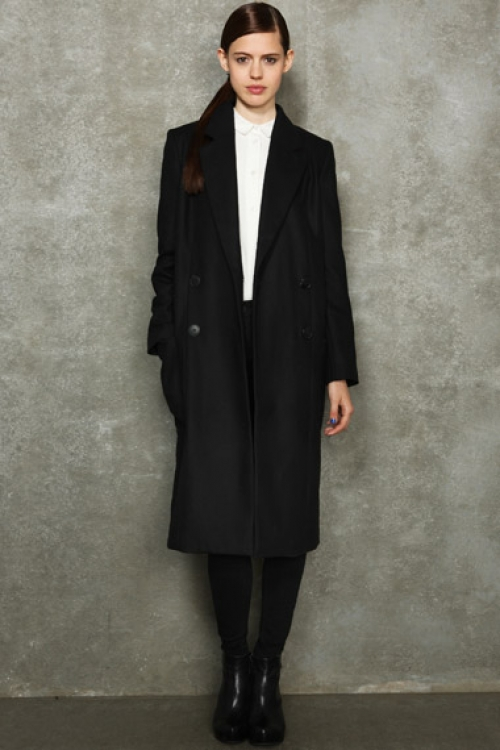 BLACK HACKNEY COAT - made to order