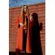 Orange Oversize Belter Coat - sold out