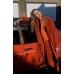Orange Oversize Belter Coat - sold out