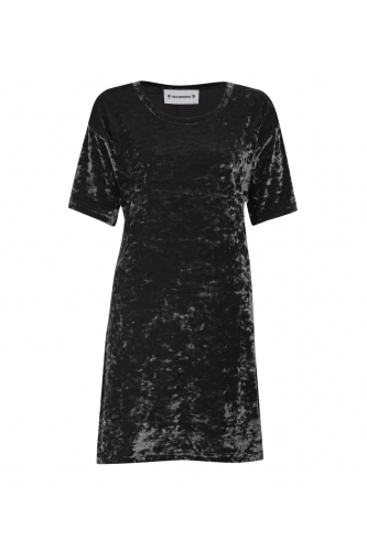 BLACK CRUSH HARPER DRESS