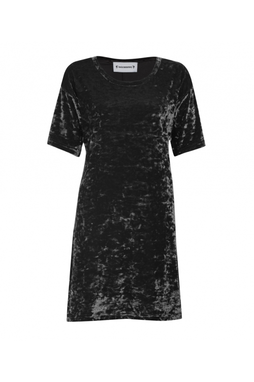 BLACK CRUSH HARPER DRESS