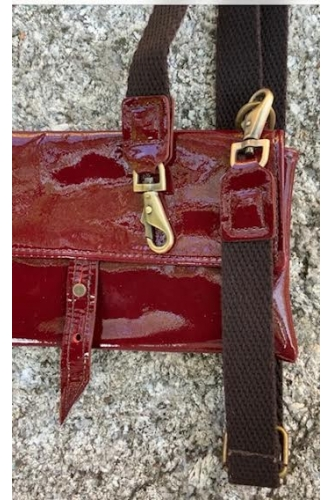 RED PATENT TWIN PACK