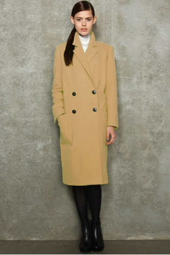 CAMEL HACKNEY COAT - made to order