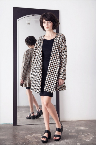 CHESS PEACH SUMMER SWING COAT