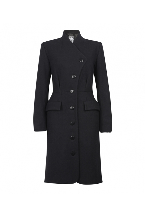 NAVY VIENNA COAT