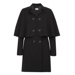BLACK ZINA COAT