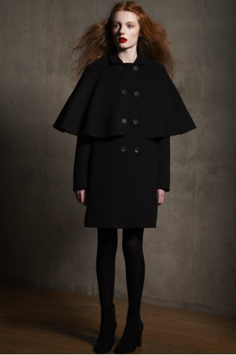 BLACK ZINA COAT - MADE TO ORDER